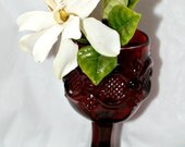 Avon Ruby Red Aperitif  Glass