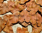 patina brass leaves b05