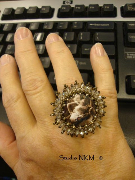 Erotic Glam Adjustable Ring