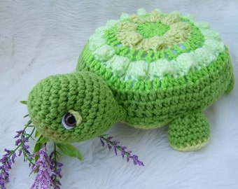 Crochet Pattern Turtle by Teri Crews Wool and Whims Instant Download PDF Format