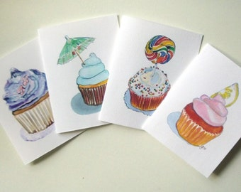 Card Set - Cupcake Art Note Cards (Ed. 3) , Set of 12