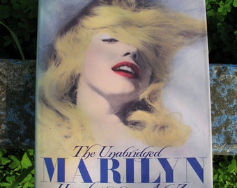Mint Condition The Unabridged MARILYN Her Life From A to Z  Hard Back Book  Published In 1987