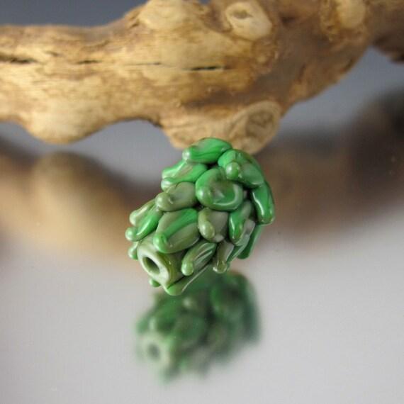 Artichoke - Lampwork Bead