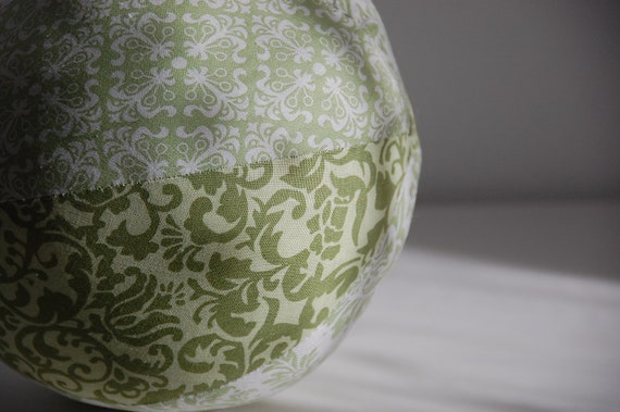 Fabric Ball with a Bell -  Large