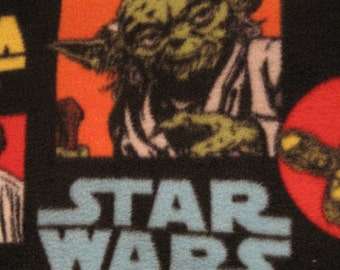 Star Wars with Red Fleece Blanket - Ready to Ship Now