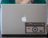 Retro Instamatic Camera Macbook Decal / Laptop Decal / Vinyl Decal