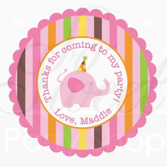 Favors Tags And Stickers Stickers Party Favor Tags