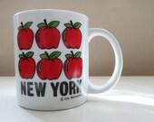 Vintage New York Apple Mug