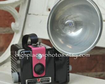 WORKING Kodak Brownie Hawkeye Flash Camera with flash U PICK the Color