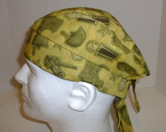 Military Symbols Skull Cap