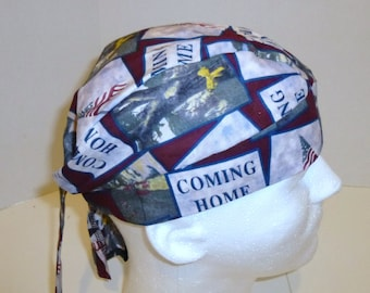 Welcome Home Soldiers Skull Cap