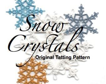 Snow Crystals -  TATTING PATTERN