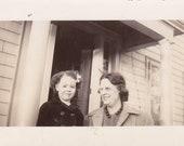 Lady and Little Girl - Vintage Photograph, Vernacular, Ephemera  (I)