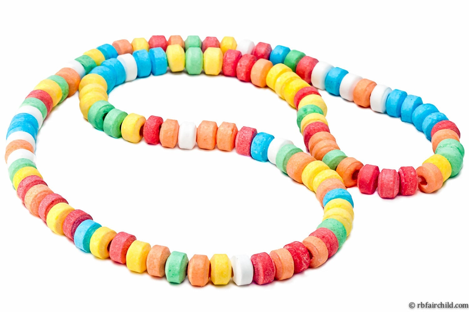 It's like one of those stretchy candy necklaces, made of bread.