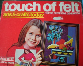 Art Kit, A Touch of Felt, For The Expressive Generation, Vintage, 1970s