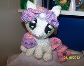 Crochet My Little Pony Sweetie Belle Apple Bloom Rainbow Dash