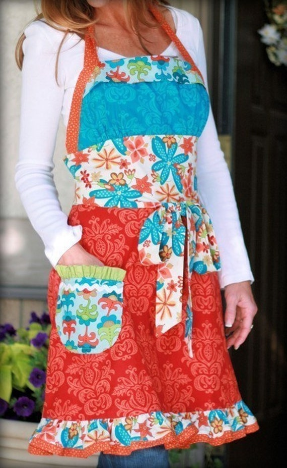 ON SALE Lila Tuelerr Funked out Apron