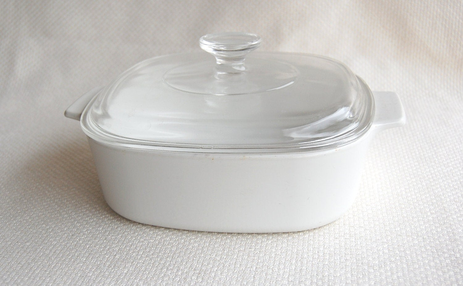 Vintage Corning Ware A 2 B Covered Casserole All White Or Just