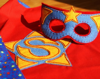 COMBO  Super Cape & Super Mask PDF Pattern