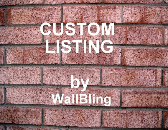 Horizontal Custom Art Sign - for renovate