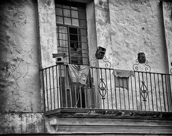Fine Art Photograph of Old Jeans and Shirt laundry 5x7 8x10 11x14 16x20 24x30