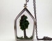 Tree Terrarium Necklace - Adopt a Tree No.39 - FREE Shipping