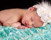 Baby Mat Photography Prop Thick Mini Baby Blanket, 'Jade' or CHOOSE Colors