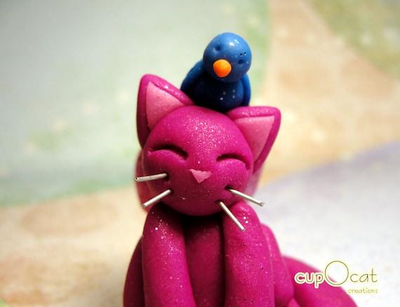 Bird Songs - A little fairy cat and his bird friend