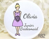 Wedding Accessories - Bridesmaid Gifts - Pocket Mirrors - Wedding Party Favors