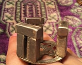 Handmade Pentagram Stonehenge Ring Size 9