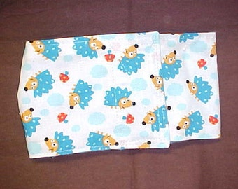 Male Dog Belly Band Pet  Diaper Wrap  Hedgehog Custom Sizes To 22 Inches