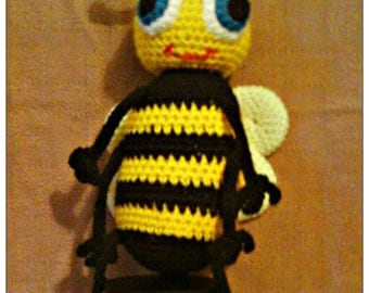 Bummble Bee Betty PDF Crochet Pattern by CreationsByGems