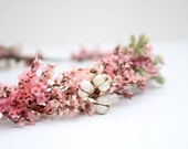 Pretty in Pink Bridal Halo