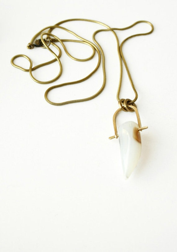 The White Tusk necklace
