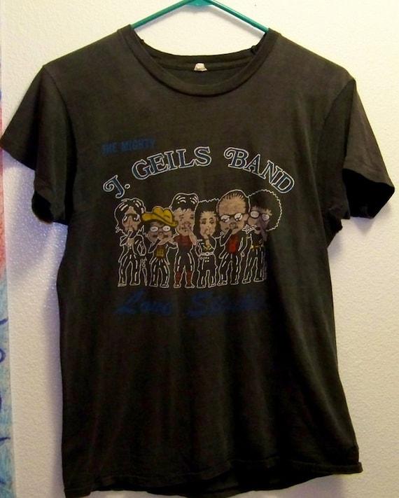 LOVE STINKS Original J Geils Band 1980 tour T Shirt s/m
