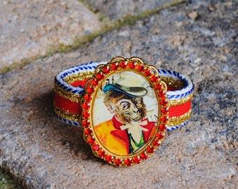 Sale Circus Monkey Friendship Bracelet