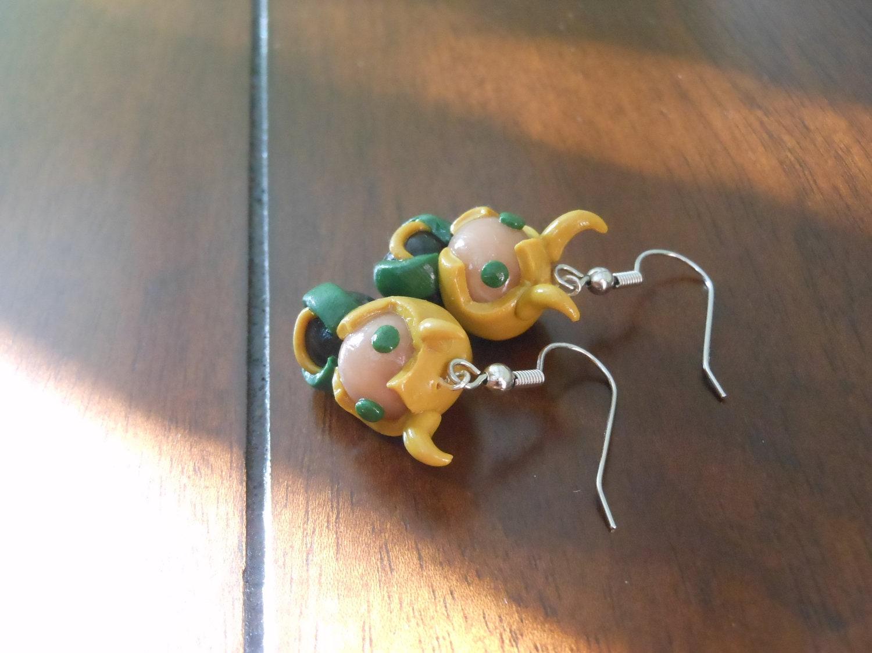 Chibi Loki Earrings