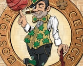 Lucky Leprechaun - Art print