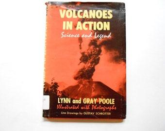 Volcanoes in Action, a Vintage Children's Book