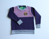 BETTY - 2Tone Fleece Sweater - Size 4T