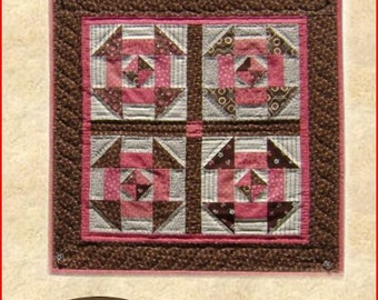 Churn Dash Quilt Pattern PDF Reproduction Traditional Style