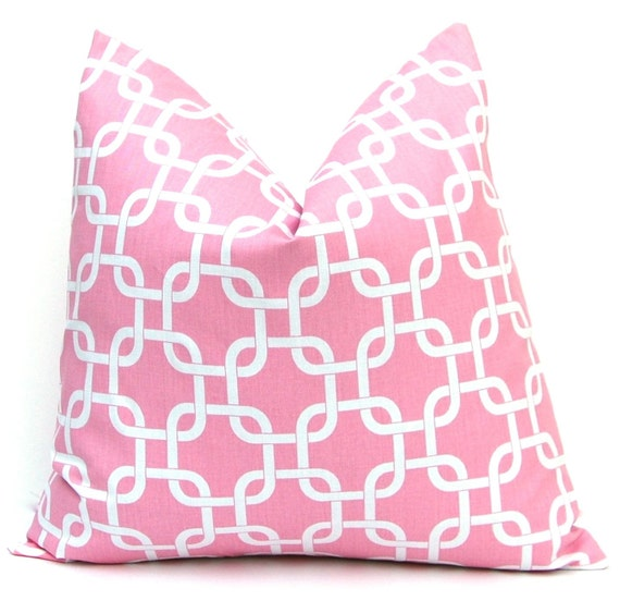 Baby Pink Decorative Pillows : Baby Pink Throw Pillow Covers Decorative by CompanyTwentySix