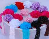 ZoeLynn & Co. (TM) Solid Satin Infant Headbands