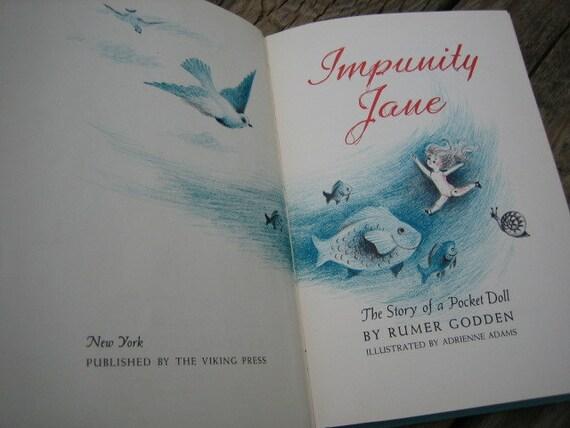 I'm imp-imp-Impunity Jane ... a 50s tale of a little doll who belonged in a pocket