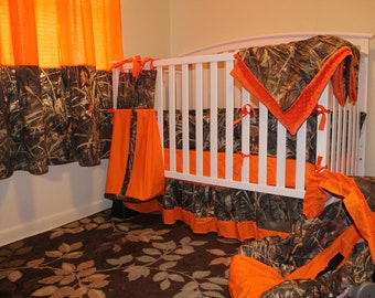 CAMO Just Add Baby COMPLETE NURSERY 12 pc  Crib Bedding Set