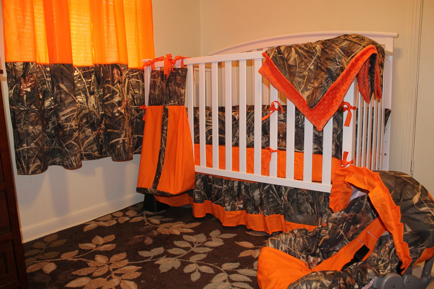 Camo Just Add Baby Complete Nursery 13 Pc Crib Bedding Set