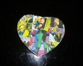 Green Arrow and Black Canary Decoupage Gift Box