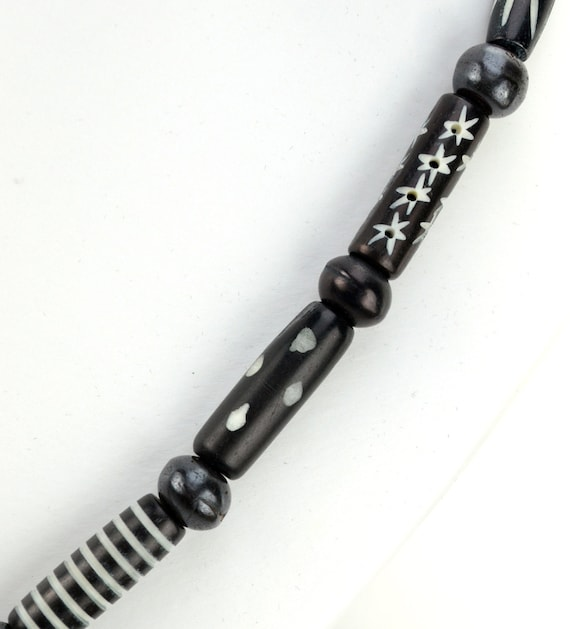 Gothic Tribal Necklace Black