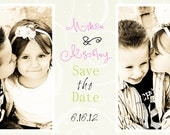 Printable Photo Save the Date/Wedding Invite Card