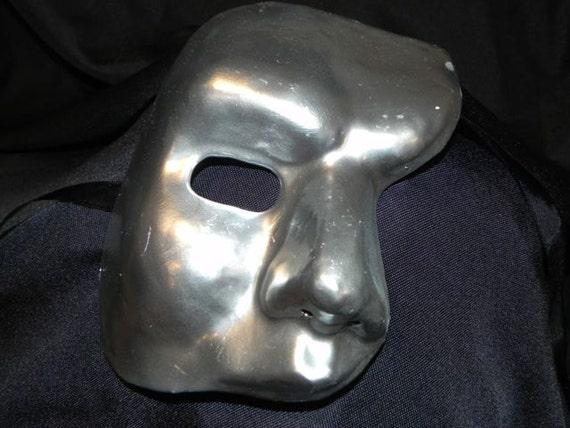 Silver Phantom of the Opera Mask